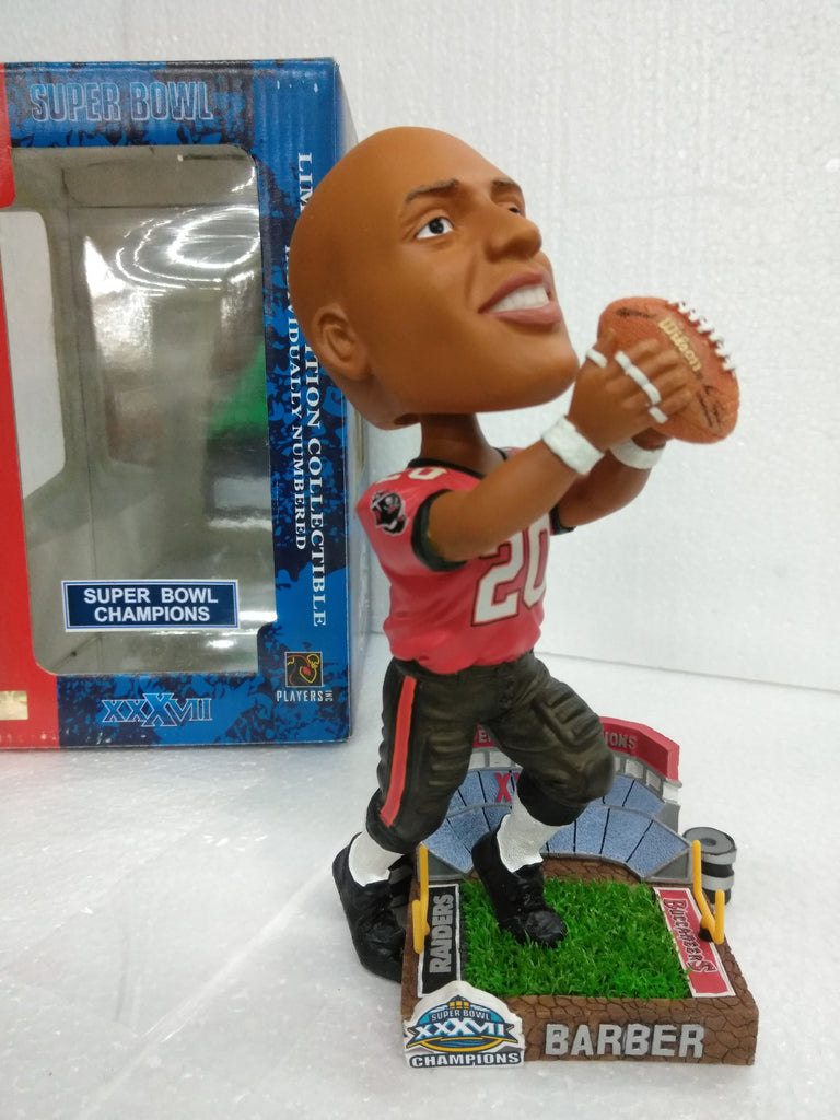 BARBER 20 SUPER BOWL CHAMPS BUCCANEERS Bobblehead