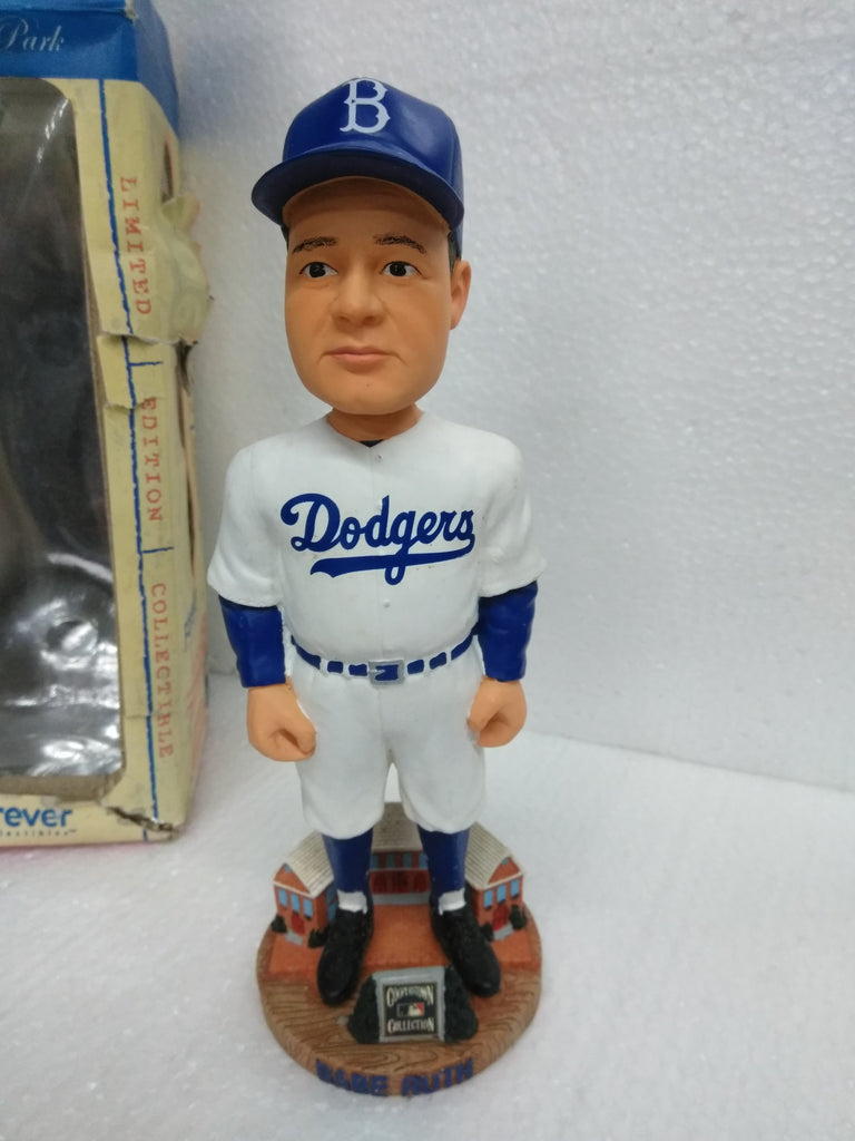 Babe Ruth Dodgers Legends Of The Park Bobblehead