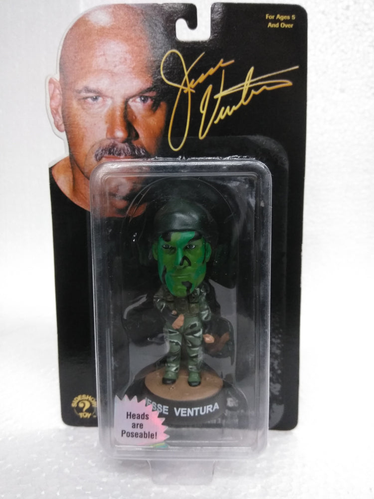 JESSE VENTURA THE NAVY SEAL MINI Bobblehead