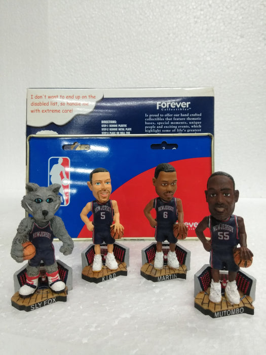 NEW JERSEY NETS 4 PACK MINI BOBBLES Bobblehead