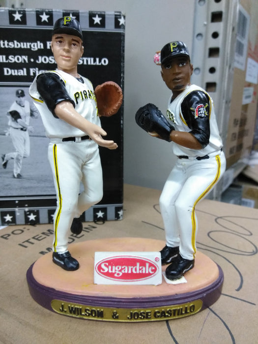 J WILSON AND J CASTILLO DUAL Bobblehead