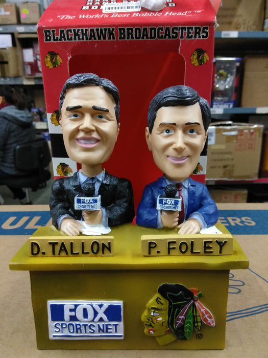 D TALLON P FOLEY FOX SPORTS NET Bobblehead