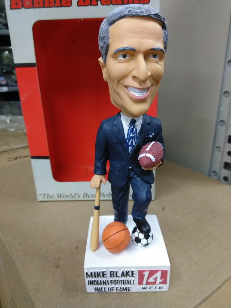MIKE BLAKE INDIANA FOOTBALL HALL OF FAME Bobblehead