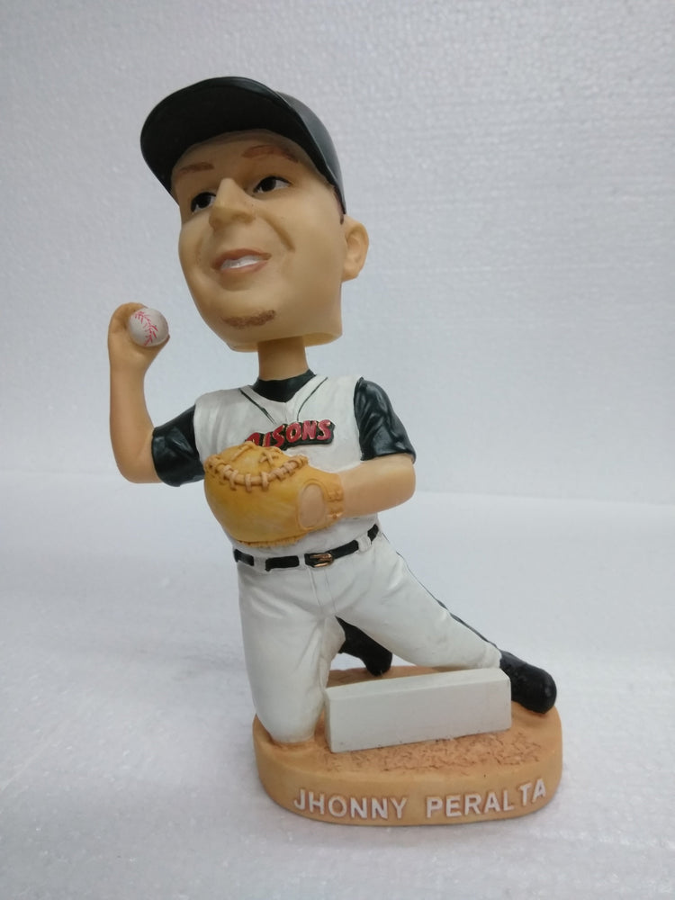 JHONNY PERALTA #2 BISONS Bobblehead