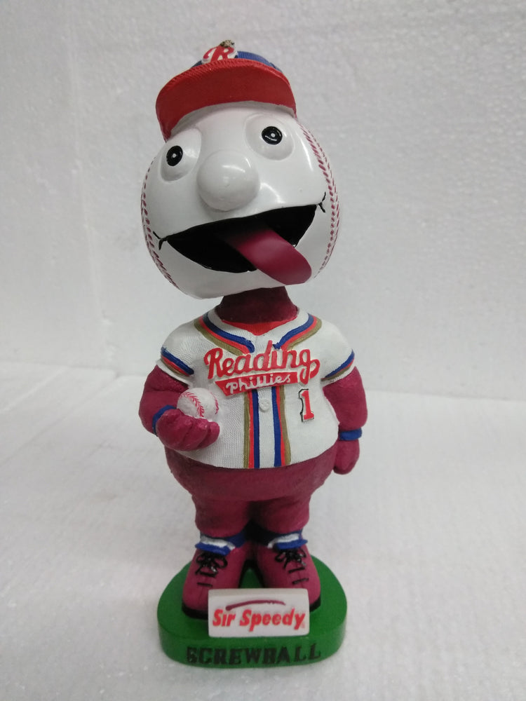 SCREWBALL #1 READING Bobblehead
