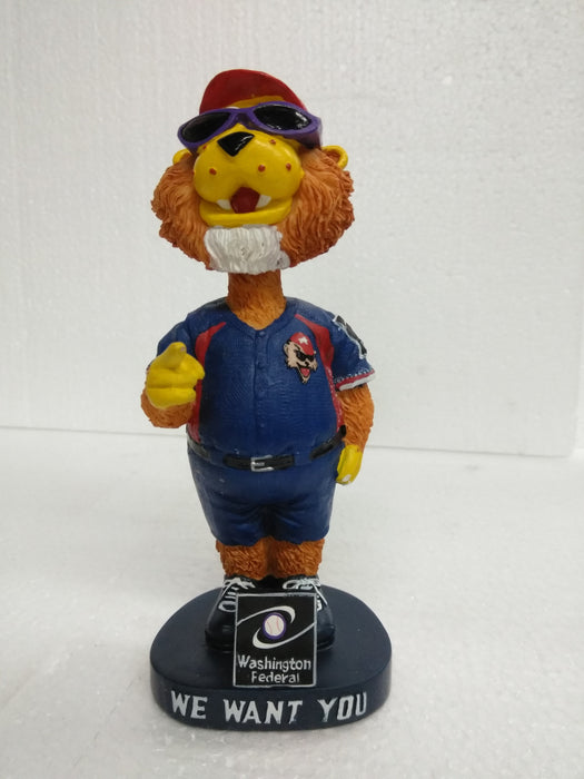 WE WANT YOU WASHINGTON FEDERAL WJPA Bobblehead
