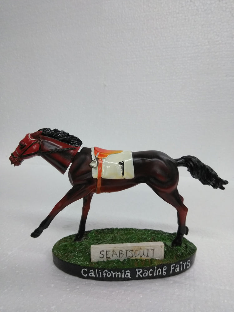 CALIFORNIA RACING FAIRS #1 SEA BISCUIT Bobblehead