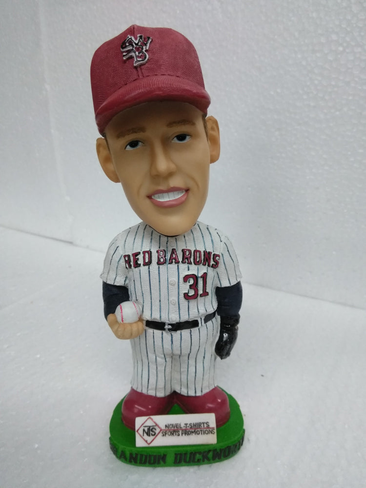 BRANDON DUCKWORTH #31 RED BARONS Bobblehead