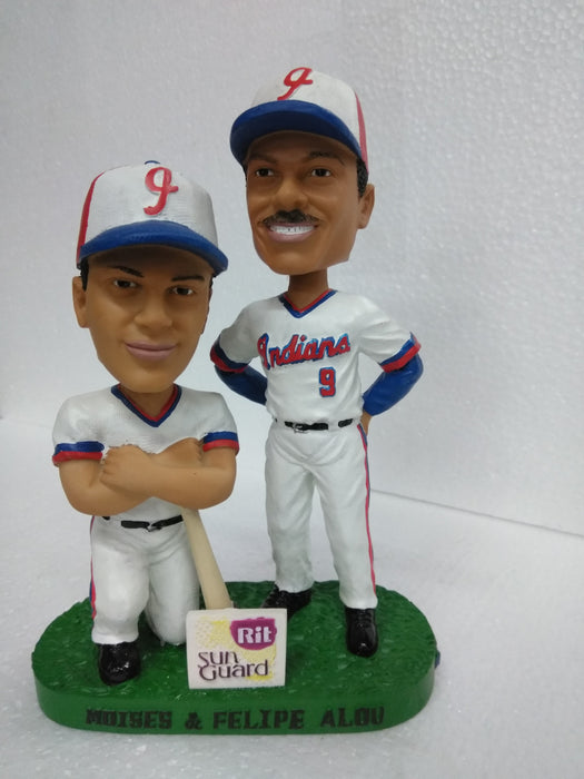 MOISES# 10 AND FELIPE ALOU #9 BROTHERS Bobblehead