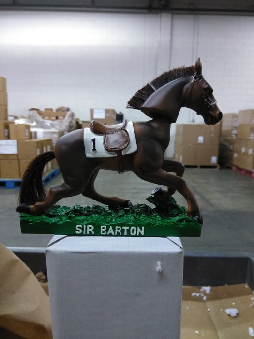 Sir Barton  Can't  find anything Bobblehead EQU