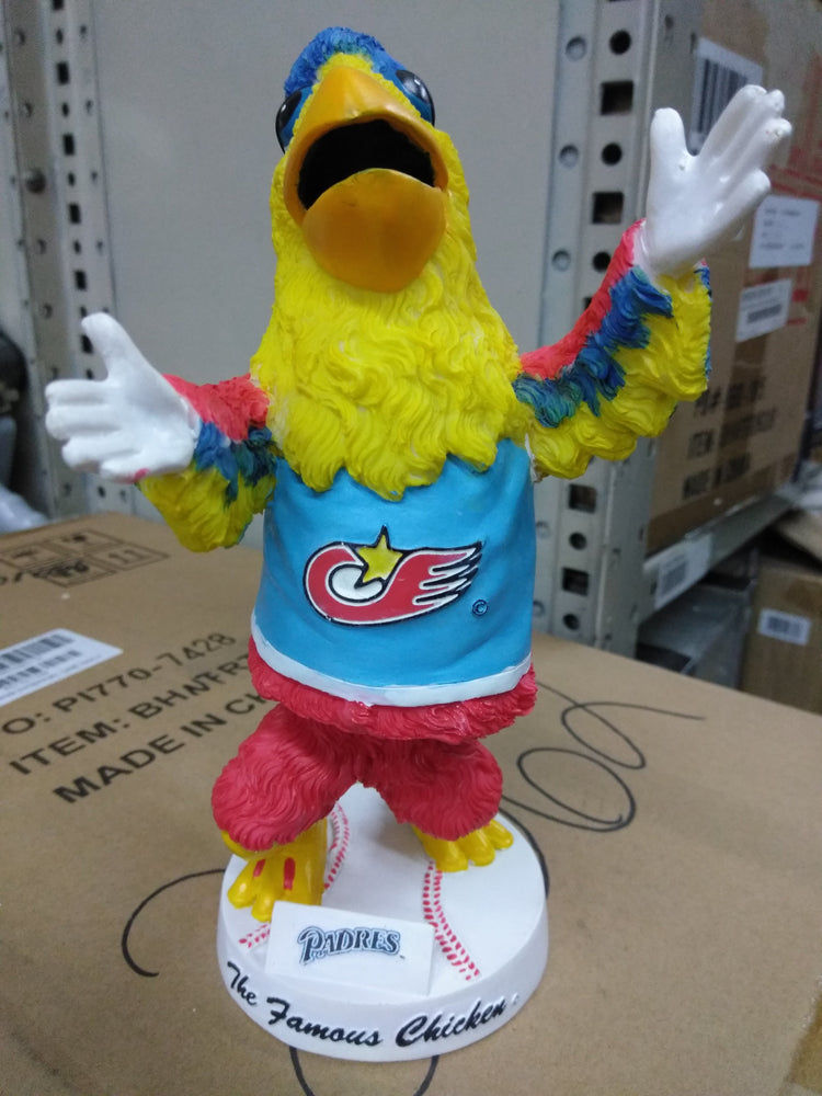 THE FAMOUS CHICKEN PADRES MASCOT Bobblehead