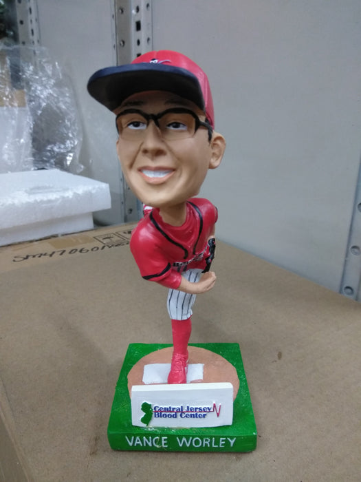 VANCE WORLEY #33 PHILLIES Bobblehead