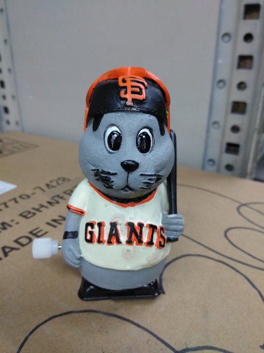 MINI LOU SEAL #01 GIANTS WIND UP WALKER Bobblehead