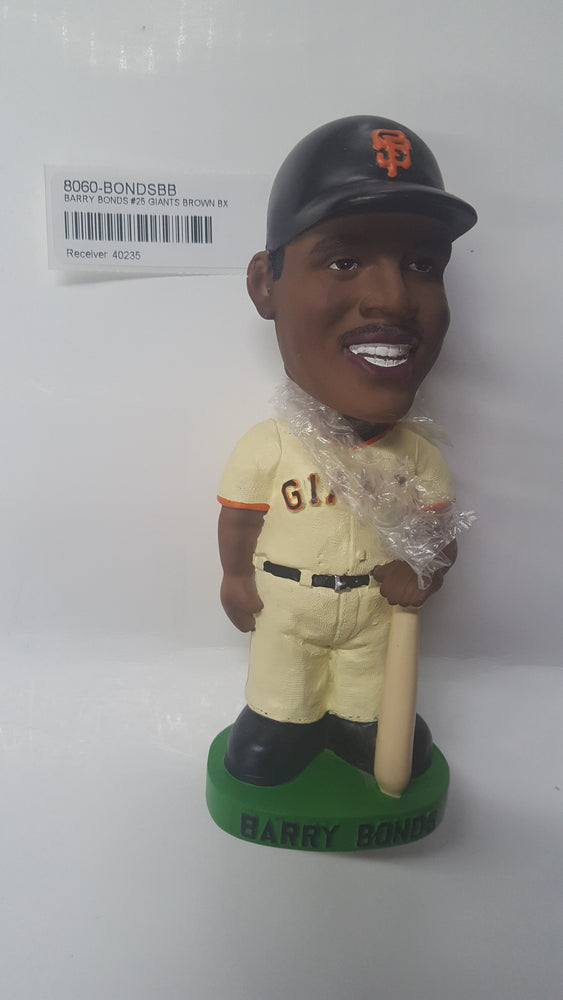 BARRY BONDS #25 GIANTS BROWN BX Bobblehead