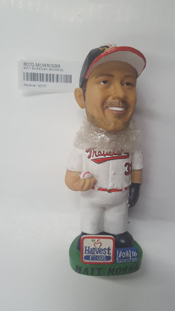 MATT MORRIS #31 BROWN BX Bobblehead
