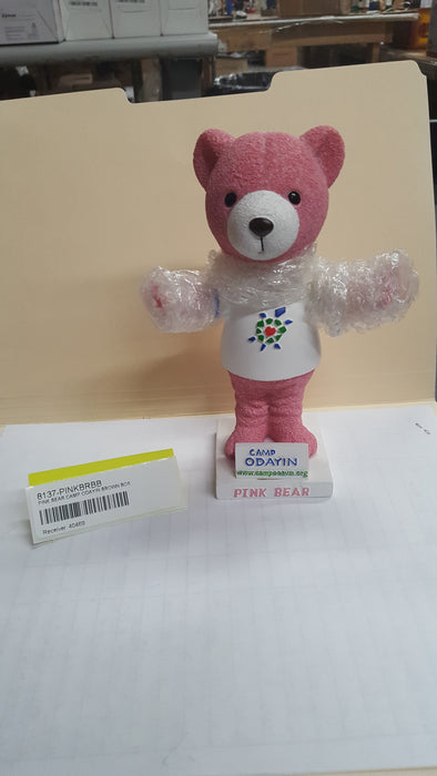 PINK BEAR CAMP ODAYIN BROWN BOX Bobblehead