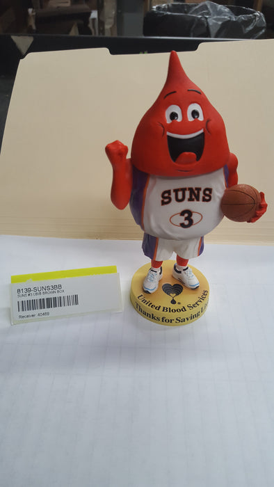 SUNS #3 UBIB BROWN BOX Bobblehead