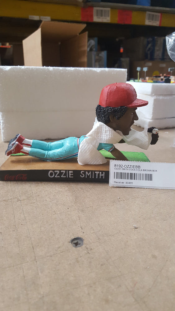 OZZIE SMITH COCA COLA BROWN BOX Bobblehead