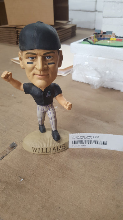 WILLIAMS #9 BROWN BOX Bobblehead