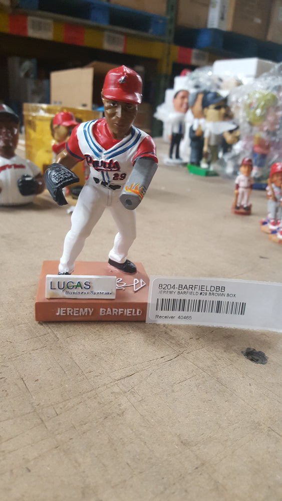 JEREMY BARFIELD #29 BROWN BOX Bobblehead