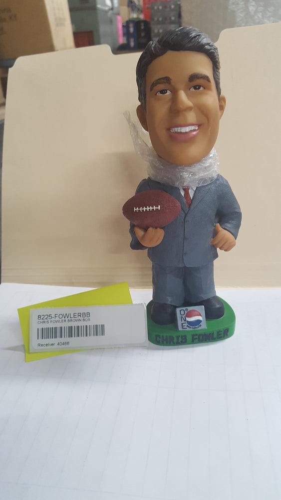 CHRIS FOWLER BROWN BOX Bobblehead