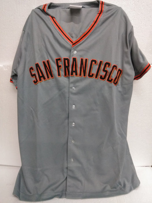 SF GIANTS GREY SHIRT YOUTH XL Bobblehead