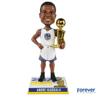 Andre Iguodala Golden State Warriors 2017 NBA Champions Bobbleheads - National Bobblehead HOF Store