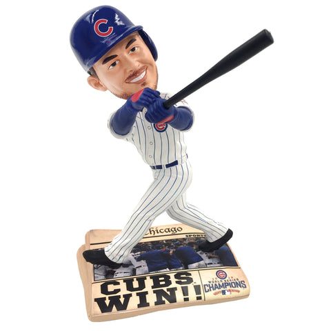 Chicago Cubs 2016 World Series Newspaper Bobbleheads (Presale)