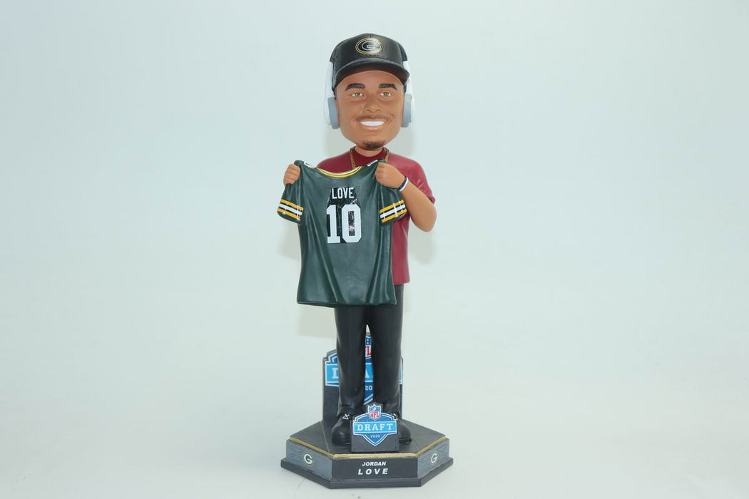 Jordan Love Green Bay Packers NFL Draft Day Bobblehead (Pre-Order)