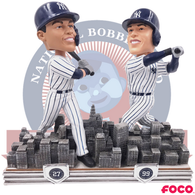 Aaron Judge Giancarlo Stanton New York Yankees Dual Bobblehead