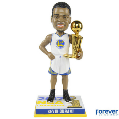 Kevin Durant Golden State Warriors 2017 NBA Champions Bobbleheads - National Bobblehead HOF Store