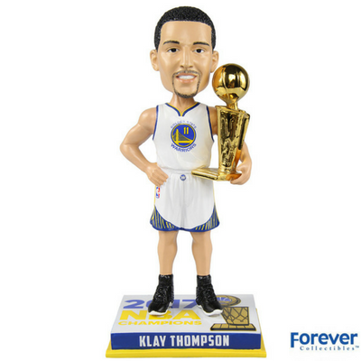 Klay Thompson Golden State Warriors 2017 NBA Champions Bobbleheads - National Bobblehead HOF Store