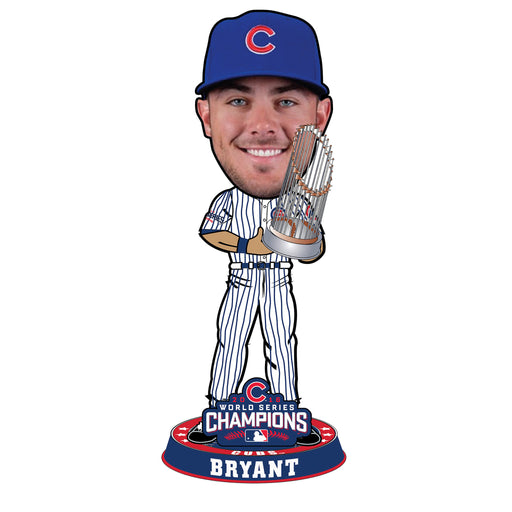 Chicago Cubs 2016 World Series 3 Foot Bobbleheads (Presale) - BobblesGalore