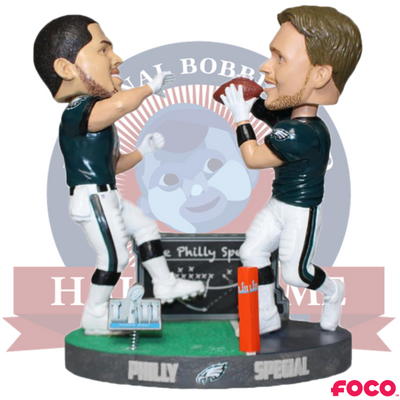 Philly Special Super Bowl LII 52 Champions Dual Bobblehead
