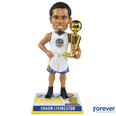 Shaun Livingston 'Golden State Warriors 2017 NBA Champions Bobbleheads - National Bobblehead HOF Store