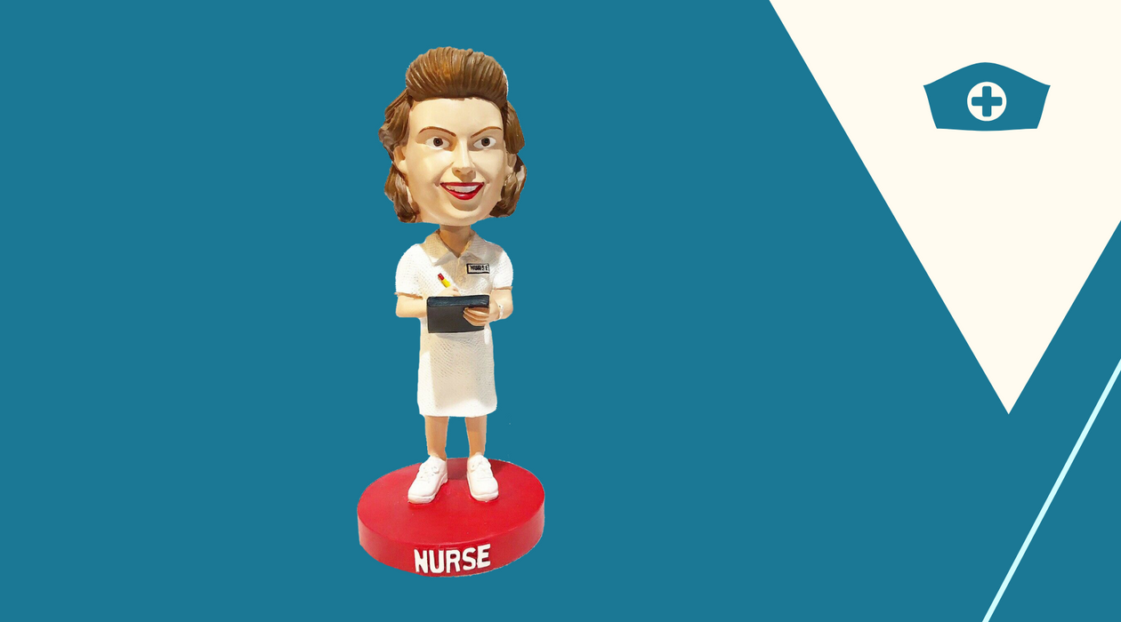 Limited Edition Nurse Bobblehead - Nurse's Week - American Nurses Association Bobblehead ANA
