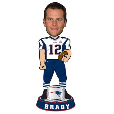 Tom Brady Super Bowl LI 3 Foot Bobblehead - BobblesGalore