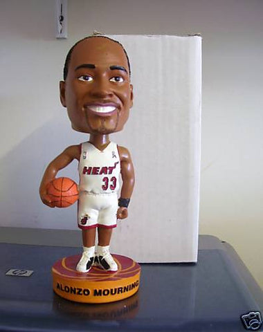 Alonzo Mourning Bobblehead - BobblesGalore
