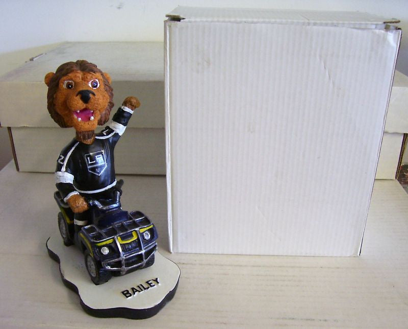 L.A. Kings Bailey the Lion Mascot Bobblehead - BobblesGalore
