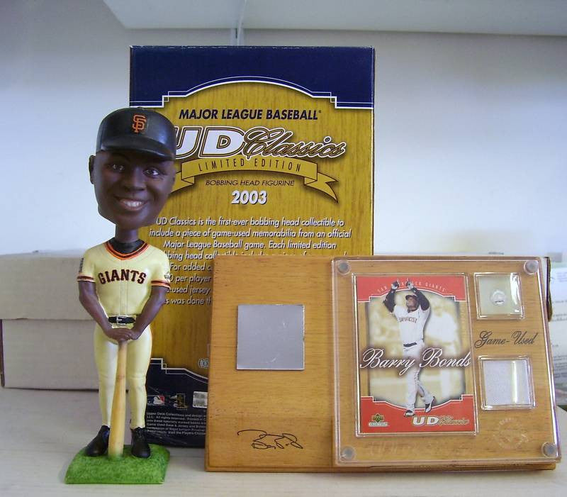 Barry Bonds Bobblehead with Jersey