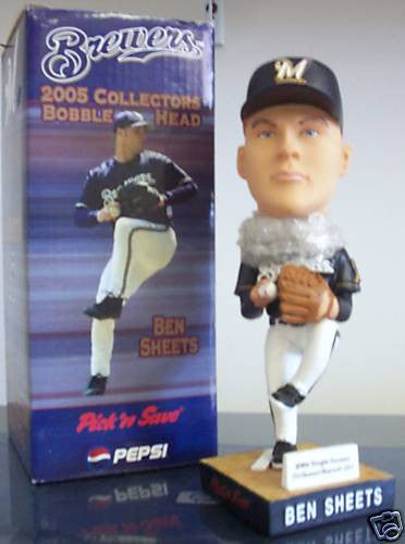 Ben Sheets Bobblehead