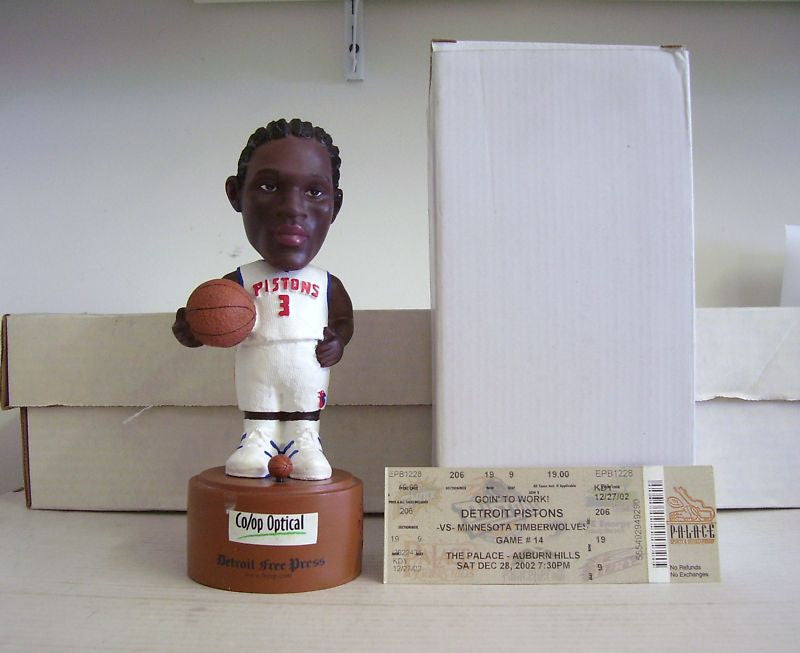 Ben Wallace Talking Bobblehead - BobblesGalore