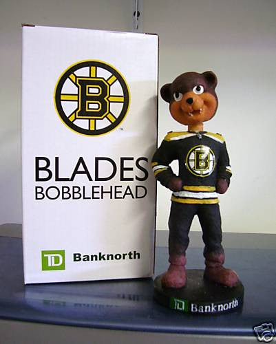 Boston Bruins Blades Mascot Bobblehead - BobblesGalore