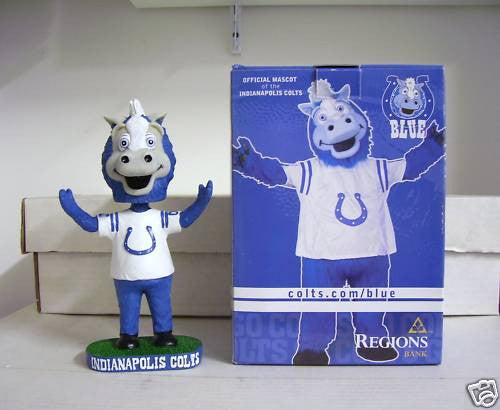 Blue the Mascot Bobblehead