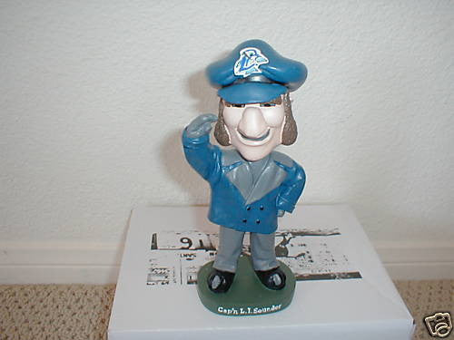 Captain Sounder Mascot - BobblesGalore
