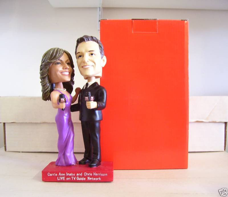 Carrie Ann Inaba and Chris Harrison Bobblehead - BobblesGalore