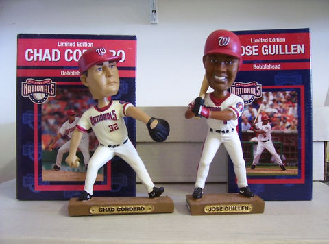 Chad Cordero and Jose Guillen Bobblehead Set - BobblesGalore
