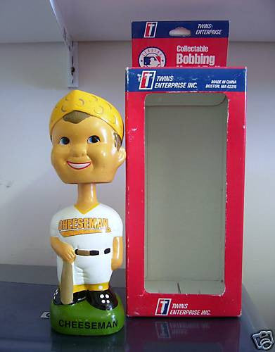 Green Bay Packers Cheesehead Bobblehead