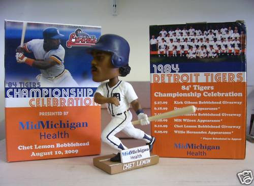 Chet Lemon Bobblehead - BobblesGalore