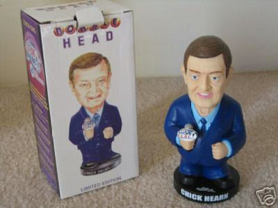 Lot of 4 Chick Hearn Bobbleheads - BobblesGalore